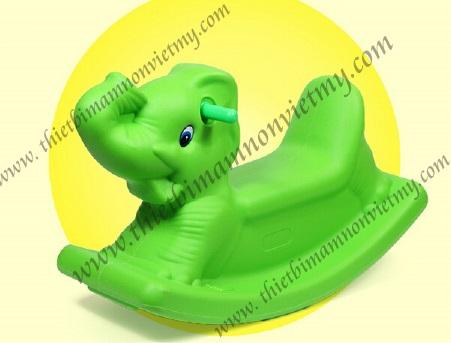 Bập bênh đơn con voi
