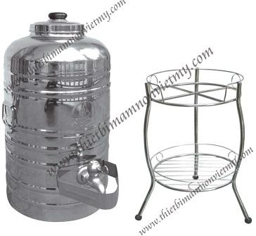 Bình ủ nước bao gồm chân