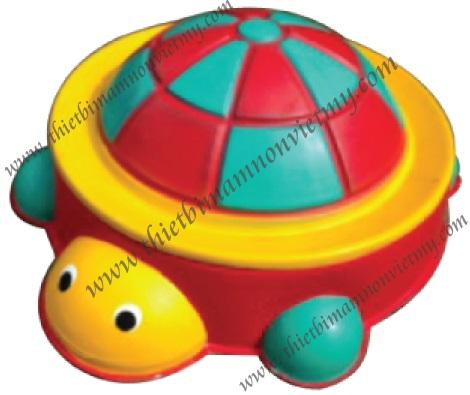 Bồn chơi cát - nước con rùa