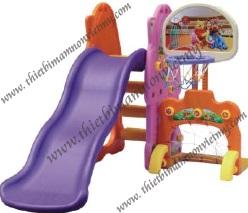 Cầu trượt +bóng rổ VM-3309