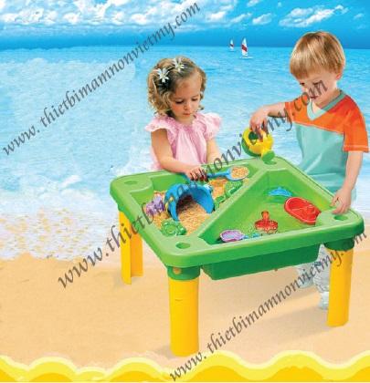 Đồ chơi với cát cao cap