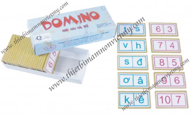 Domino chữ cái và số