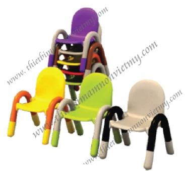 Ghế nhựa có tay vịn -