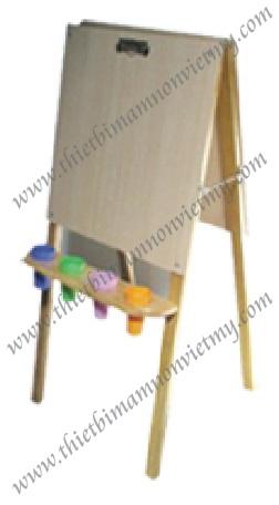 Giá vẽ đứng 2 mặt gỗ