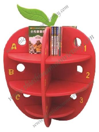 Kệ sách thư viện quả táo