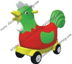 Xe chòi con gà